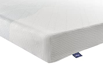 Silentnight 3-Zone Memory Foam Rolled Mattress - Super King