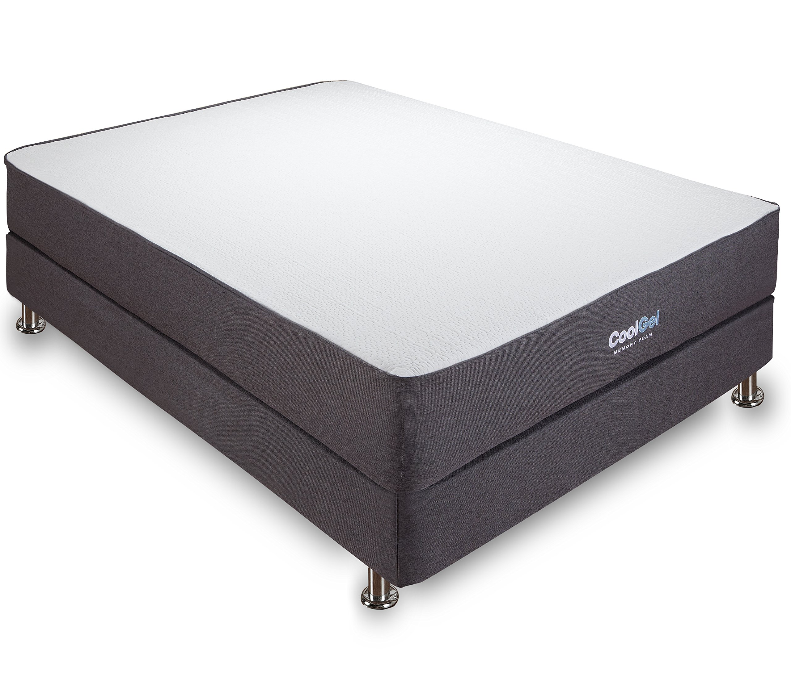 classic brands 10 5 inch cool gel ventilated memory foam mattress queen ebay. Black Bedroom Furniture Sets. Home Design Ideas