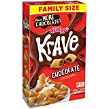Kellogg's Family Size Krave Krave Cereal Chocolate, 19.89 Oz