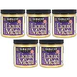 Sargent Art 22-1181 8-Ounce Liquid Metal Acrylic Paint, Gold (F?v? ???k) (Color: F?v? ???k)
