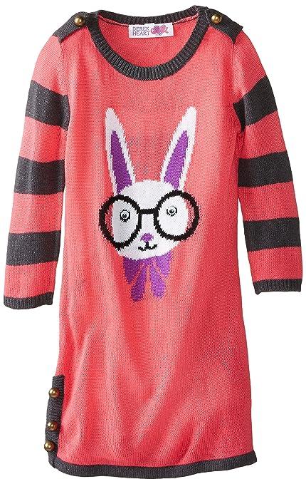 Derek-Heart-Big-Girls-Critter-Jaquard-Sweater-Dress
