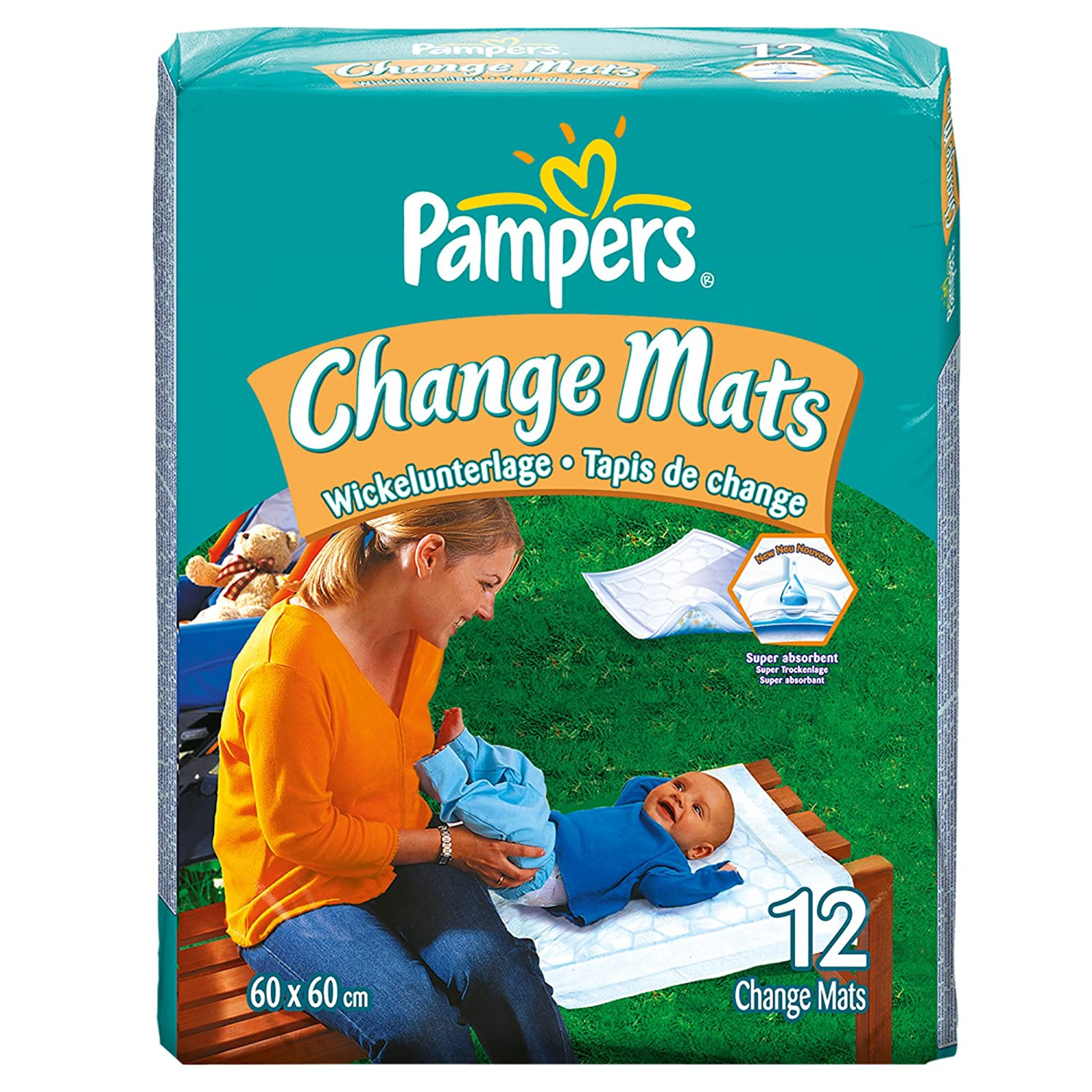 Pampers Change Mats Normal Wickelunterlage