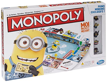 Hasbro - A25744470 - Jeu De Société - Monopoly - Minions