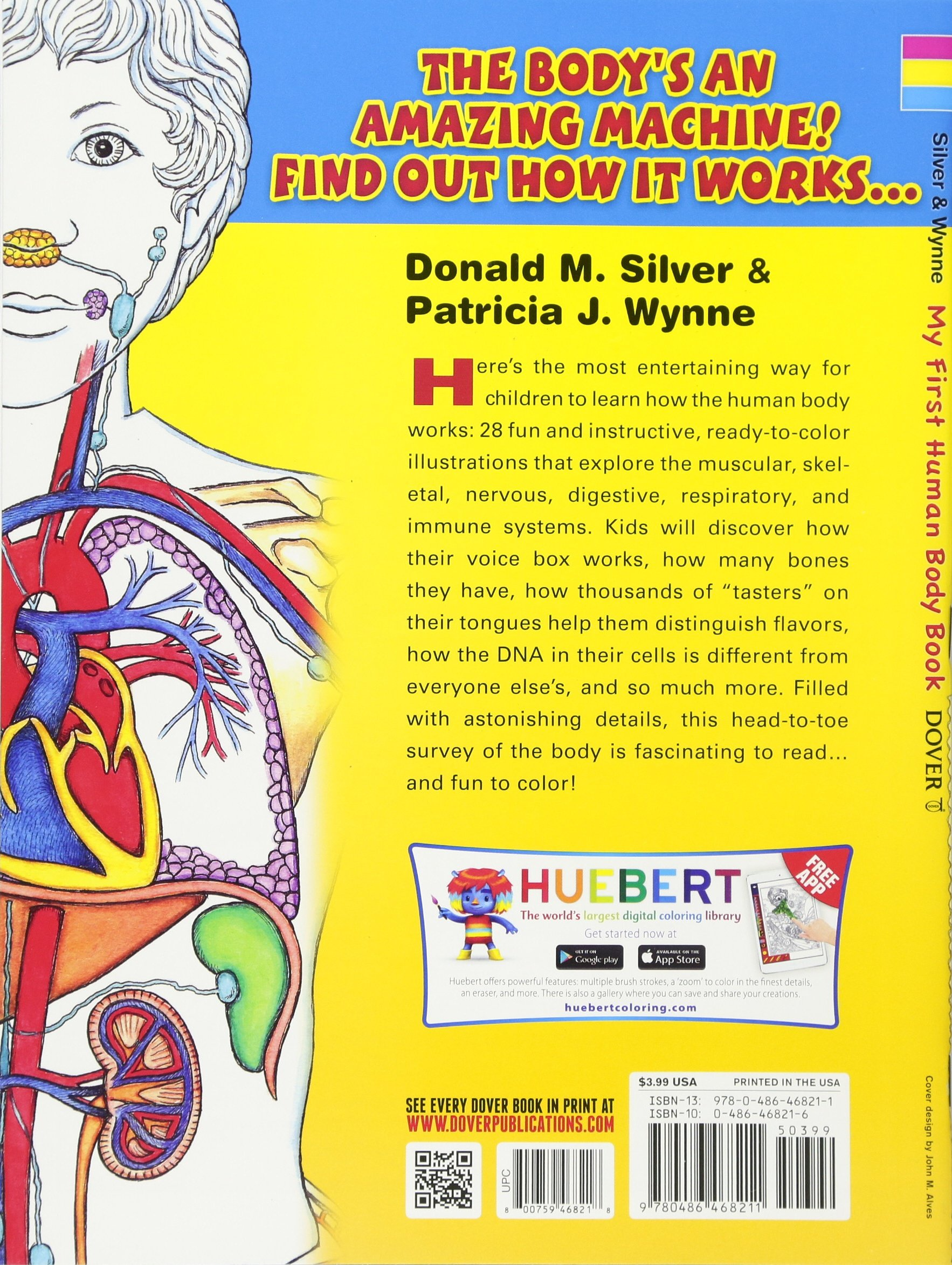 The human brain coloring book diamond - Buy My First Human Body Book Dover Children S Science Books Book Online At Low Prices In India My First Human Body Book Dover Children S Science Books