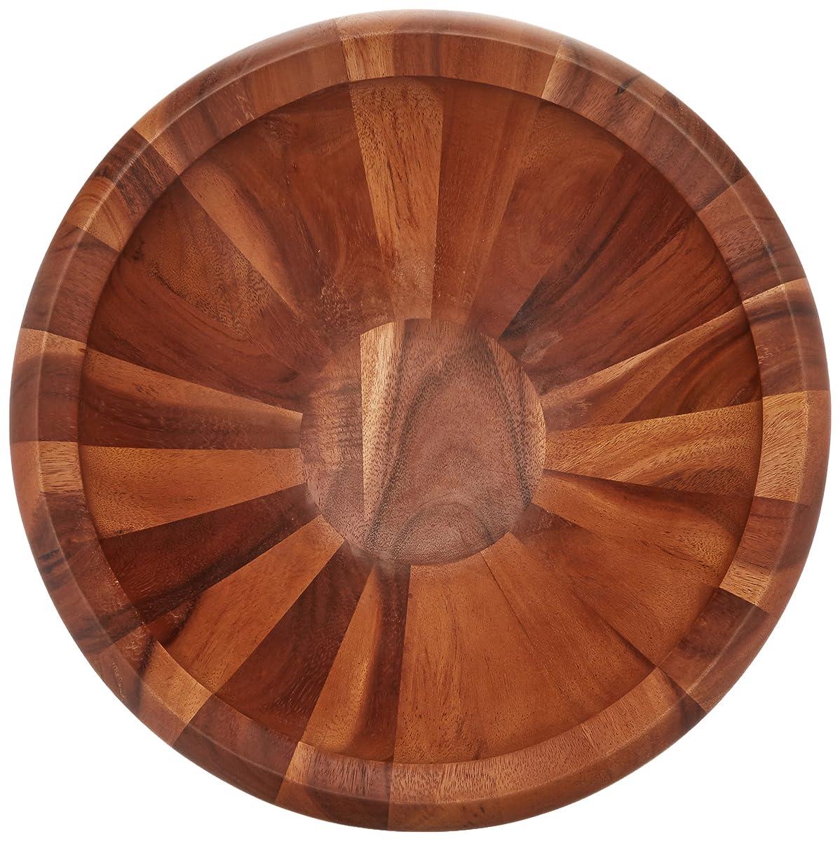 Wood Classics 16-Inch Round Salad Bowl