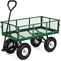 Gorilla Carts 400 lb Steel Garden Cart