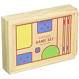 Kikkerland Vintage Game Set