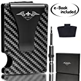 """Carbon Fiber Wallet Money Clip 
