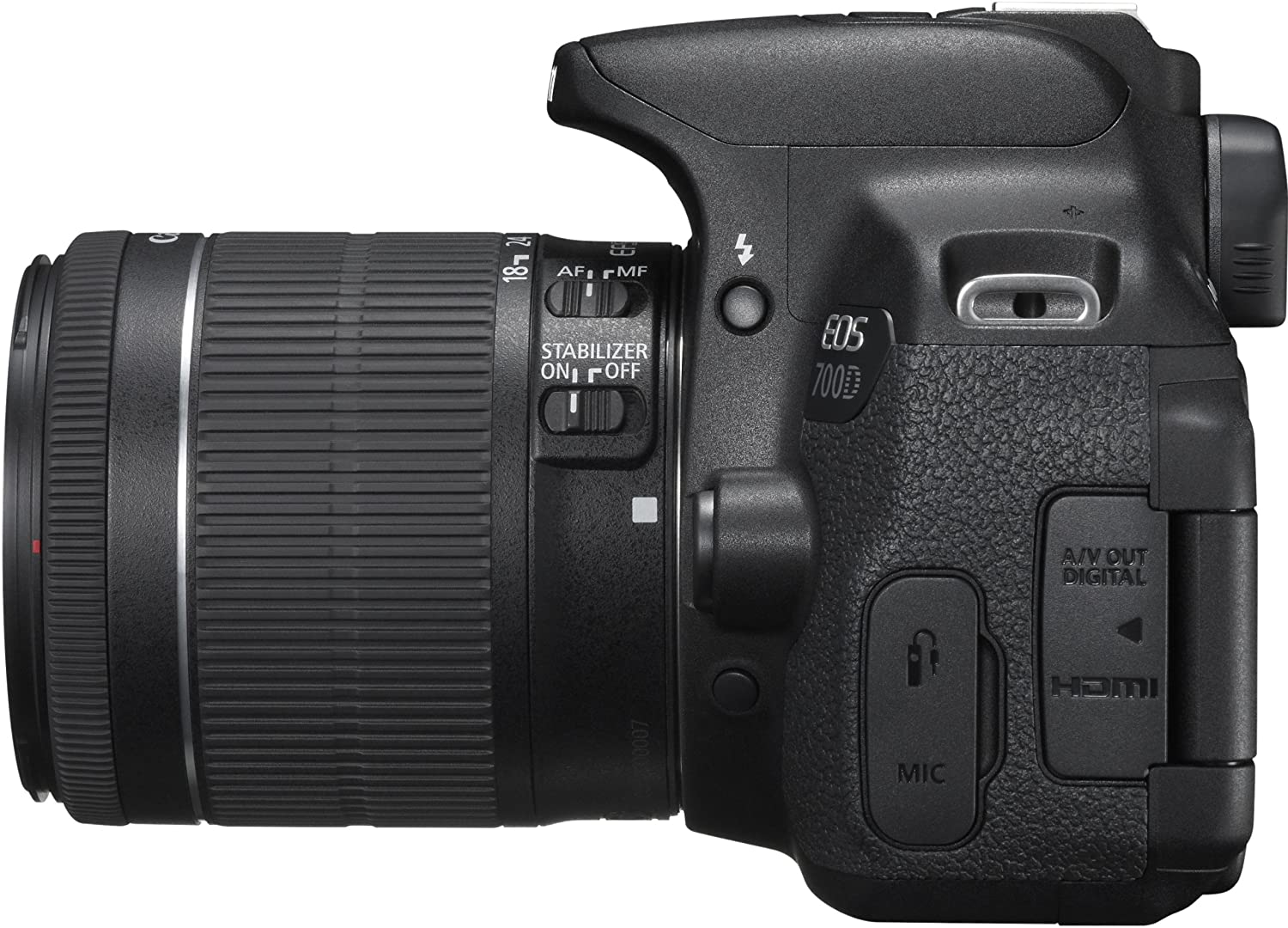 Canon 700D 18-55 (Pouch+Card)