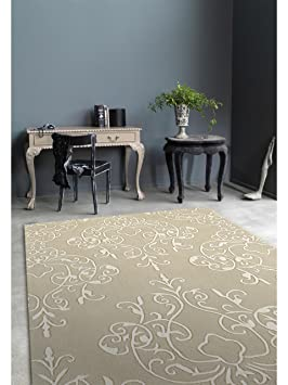 benuta tapis de de salon moderne harlequin milano pas cher taupe taupe 120x180 cm. Black Bedroom Furniture Sets. Home Design Ideas