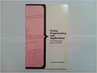 Prolog programming and applications written by W. D Burnham