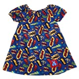 Bailey Bug Baby and Toddler Comic Book Peasant Dress (18 - 24 Months)