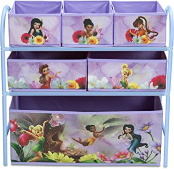 Disney Fairies Metal Toy Organizer