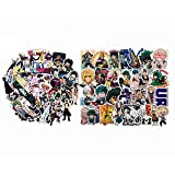 Boku No Hero Academia My Hero Academia Stickers BNHA Stickers MHA Stickers Waterproof (143pcs) (Color: 143pcs)