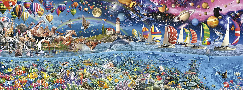 Life puzzle Educa 24000 The Great Challenge ocean reef