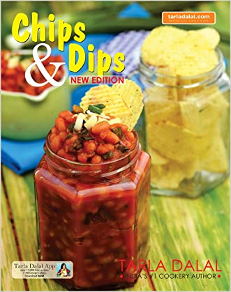 Chips and Dips written by Tarla Dalal