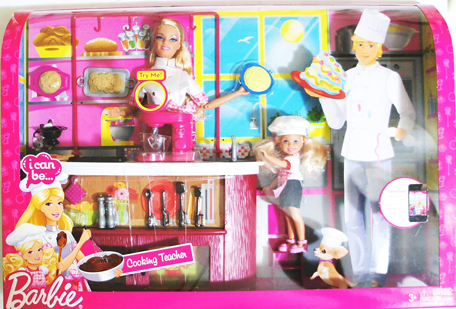 Barbie I can be Cooking Teacher Playset