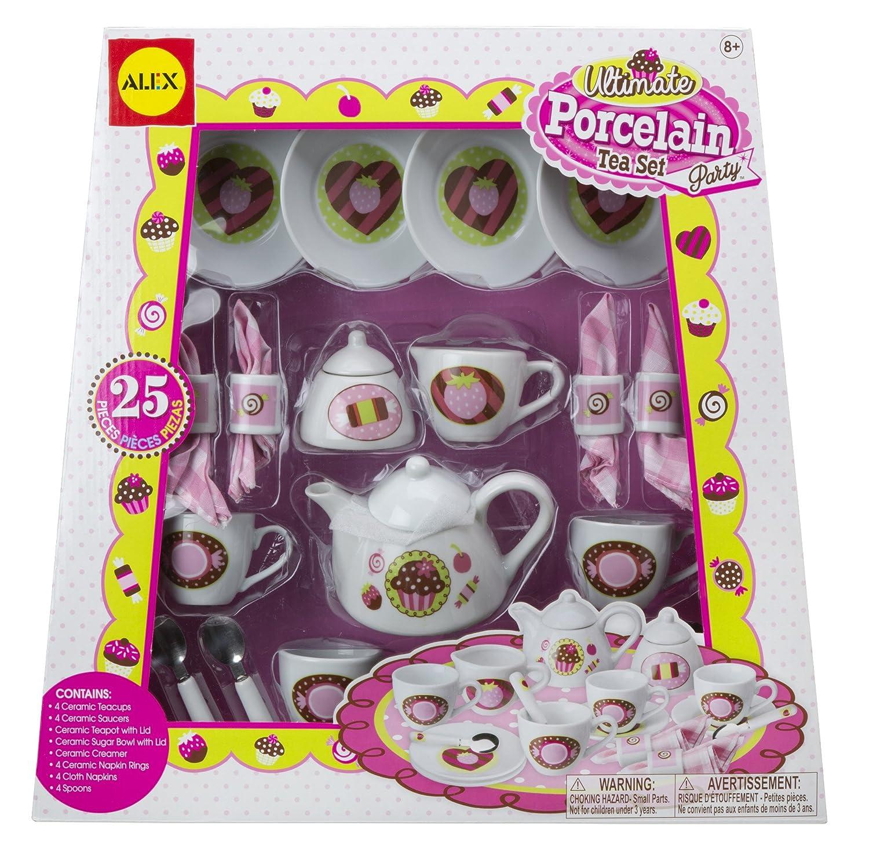 ALEX Toys - Pretend & Play, Ultimate Porcelain Tea Set Party