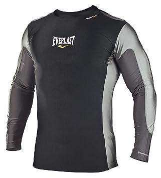 f244d4c33 Everlast Long sleeve Rashguard T-Shirt moulant micro fibre homme: 3 ...