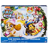 Paw Patrol Advent Calendar with 24 Collectible Plastic Figures (Color: Multicolor)