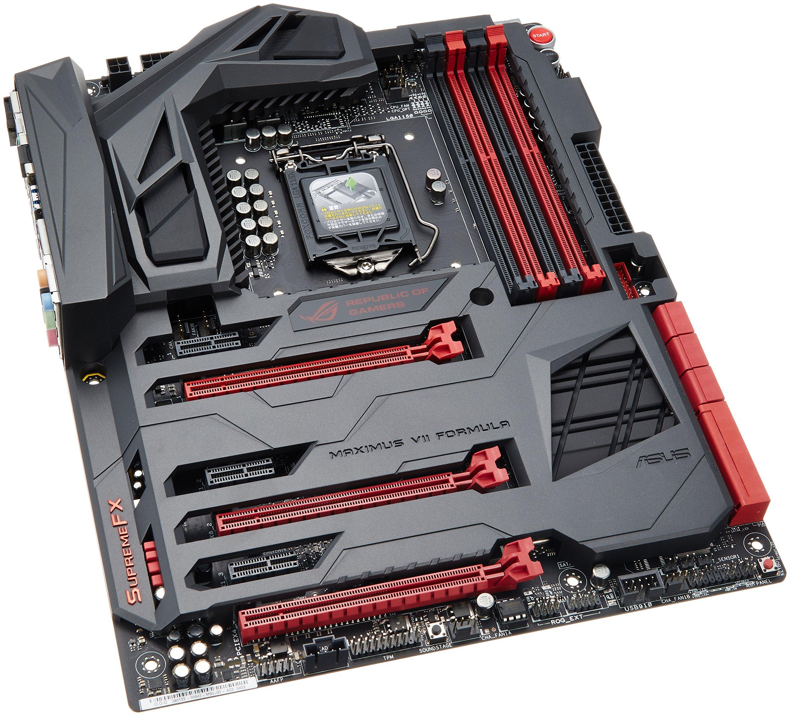 ASUS エイスース マザーボード Intel Z97チップセット LGA1150ソケット ゲーミングマザーボード MAXIMUS VII FORMULA【ATX】