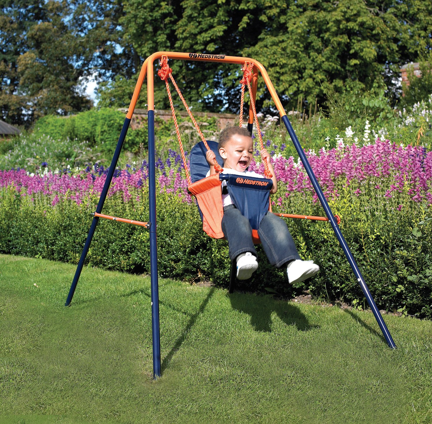 Top 10 best safe outdoor toddler swing sets reviews 2016 for Baby garden swing amazon