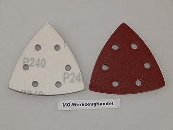 70 Stück Schleifdreieck für Multischleifer Schleifblätter verschiedene Körnungen