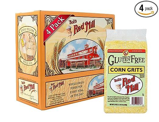 Bob's Red Mill Gluten Free Corn Grits Via Amazon