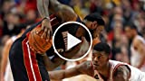 LeBron James Gets Kicked in the Face by Jimmy Butler