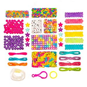 Just My Style ABC Beads by Horizon Group USA (Color: Bright)
