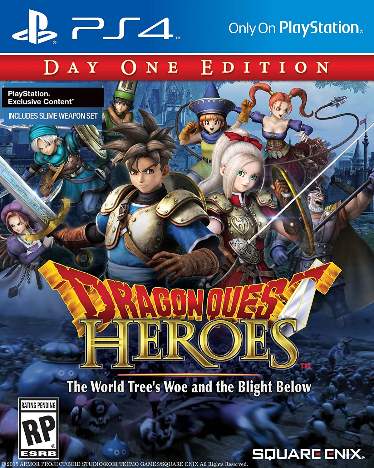 Dragon Quest Heroes: The World Tree's Woe and the Blight Below chris wormell george and the dragon