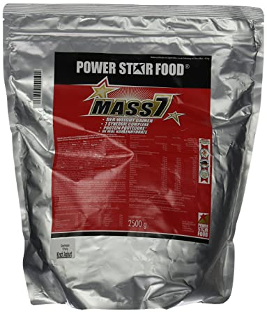 Powerstarfood Mass 7, Kirsch-Joghurt, 1er Pack (1 x 2.5 kg)