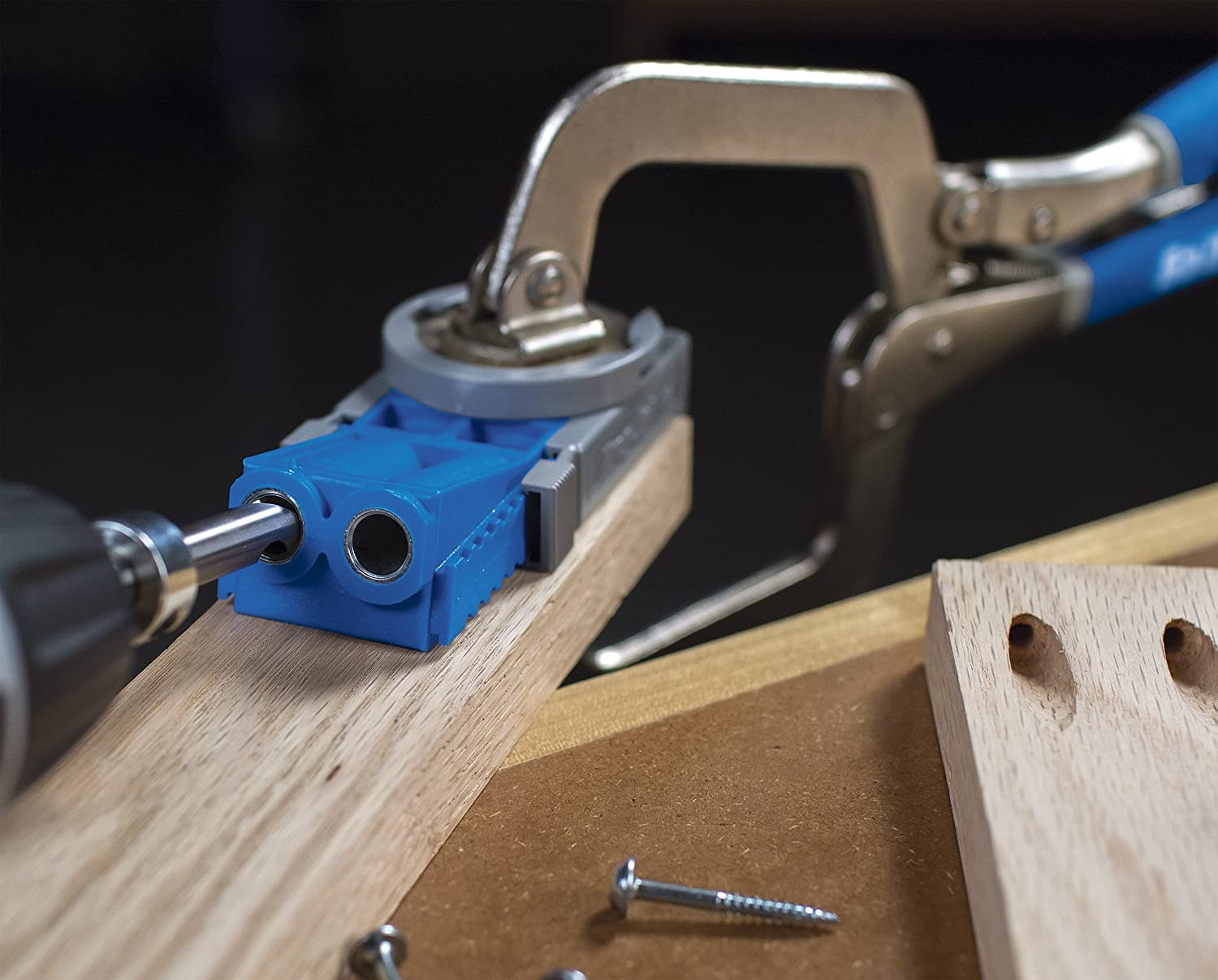 Kreg r3 jr pocket hole jig system new free shipping ebay for Woodworking guide