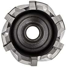 "Jancy Slugger Carbide-Tipped Annular Cutter, Uncoated (Bright) Finish, 3/4"" Annular Shank, 1"" Depth"