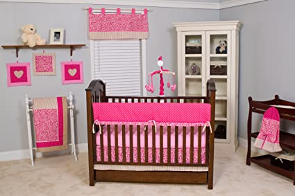 Tabby Cheetah Baby Bedding