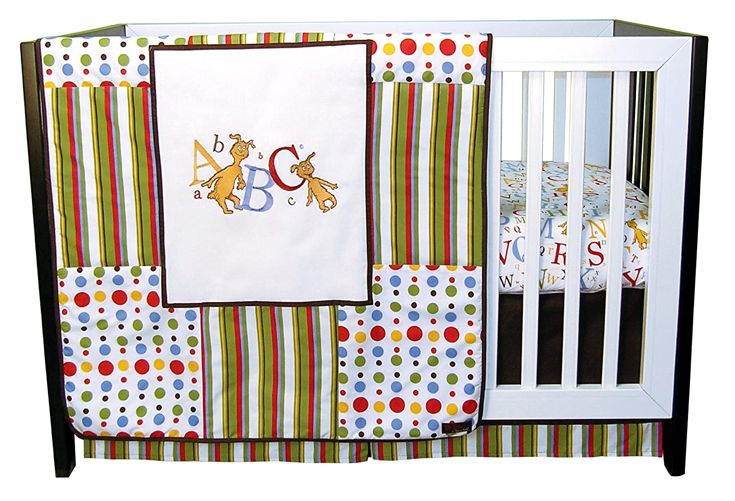 Trend Lab Dr Seuss ABC Crib Bedding Collection