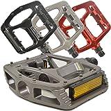 Lumintrail PD-895B Big Foot MTB BMX Aluminum Platform Bike Pedals 9/16