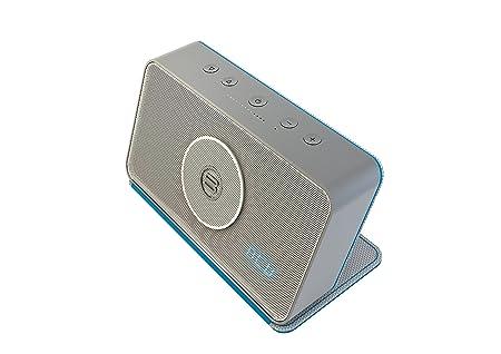 Bayan Audio BSB1-55-WH-605 Haut-parleur Bluetooth/Jack/MP3 15 W Blanc (Bleu)