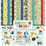 Echo Park Paper Company LM99016 Little Man Collection Kit (Tamaño: On? Pa?k)