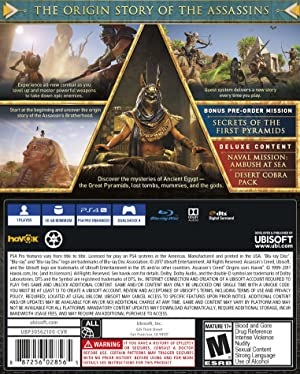 Assassin's Creed Origins Deluxe Edition - PlayStation 4