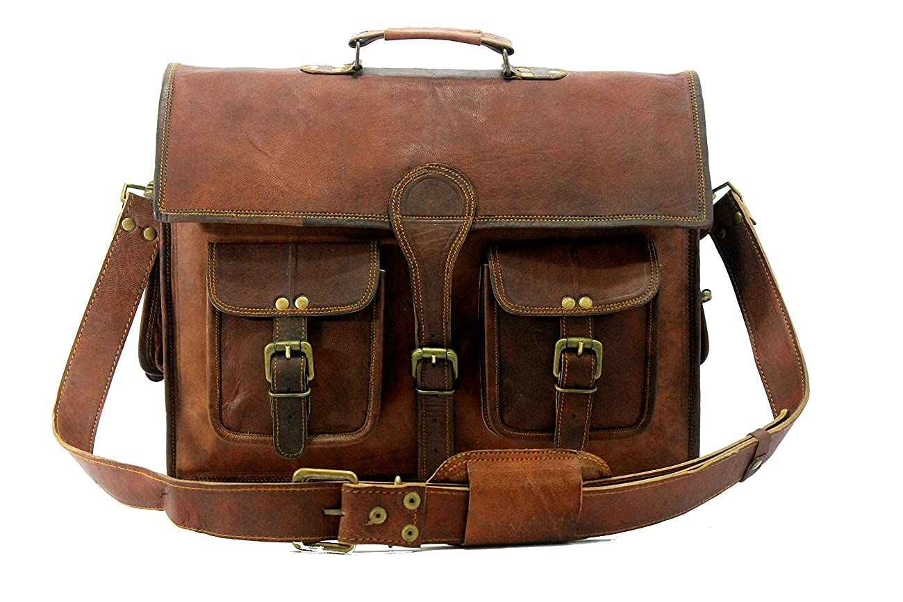 Handmade_ world leather messenger bags for men women mens briefcase laptop bag best computer shoulder satchel bag 1