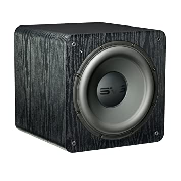 Subwoofer sVS pB-ash) - 2000 black caisson de basses 500 watts (peak), 12 1100 and 4-front firing ported caisson de basses