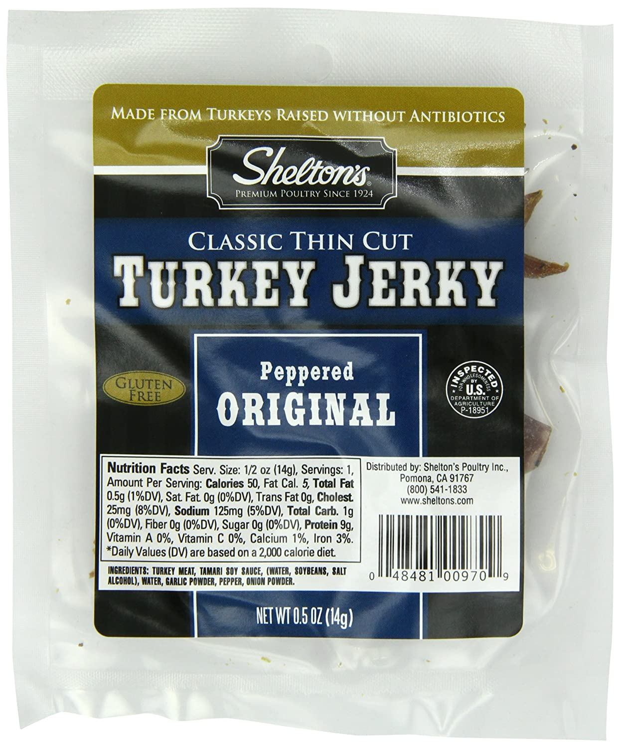 fast metabolism diet, Shelton Poultry Turkey Jerky