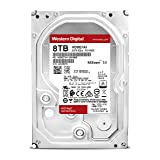 Western Digital Bare Drives WD Red 8TB NAS Hard Disk Drive - 5400 RPM Class SATA 6 GB/S 256 MB Cache 3.5