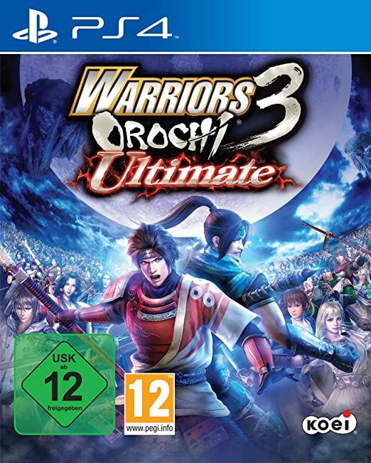 Warriors Orochi 3 Ultimate, PS4
