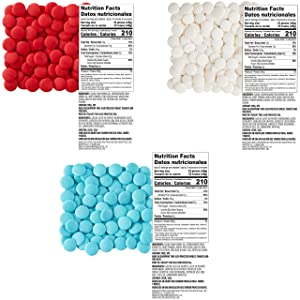 Wilton Red, White and Blue Candy Bark Set for Patriotic or Team Color Treats, 7-Piece (Color: Red, White & Blue)