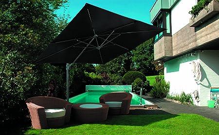 -Sombrilla Stabielo Exklusiv-lierfer Tiempo 4semanas en 7colores con dralón sustancias-Colores angeben-Blanco-Natural-amarillo-rojo-Terra&nb