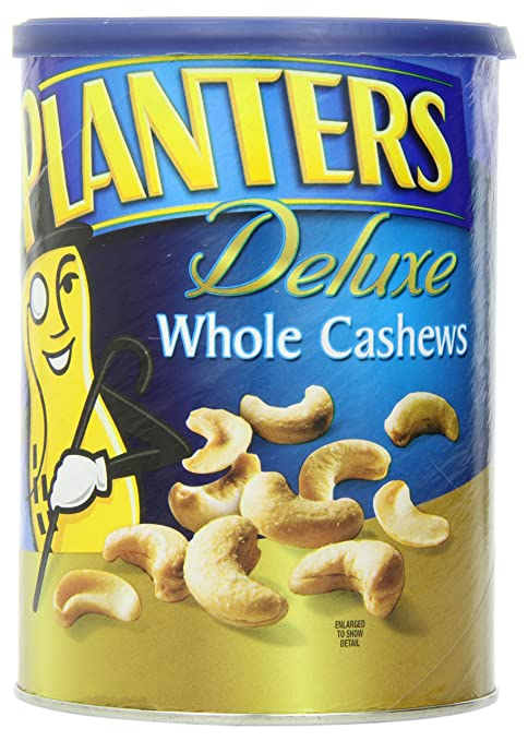 Amazon - Planters Deluxe Whole Cashew, 18.25 Ounce - $6.47