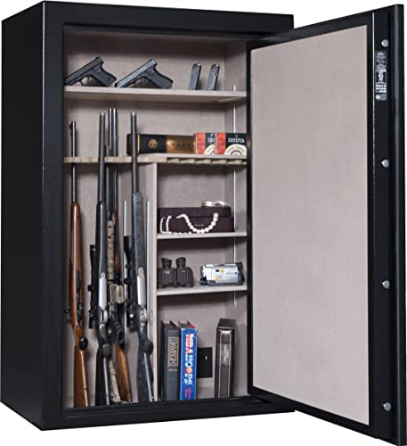 Cannon Safe CA33 Cannon Series Deluxe Fire Safe, Hammer-Tone Black