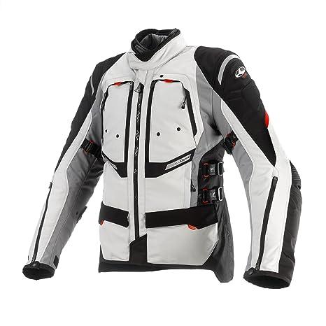 Clover 99170614_ 03GTS-3Veste moto airbag compatible, noir/blanc, Taille M